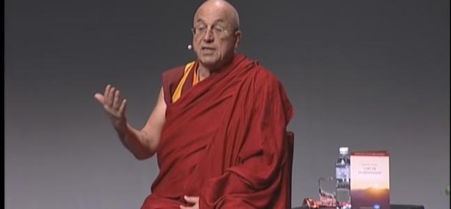 Mathieu Ricard parle de méditation et de cet Art